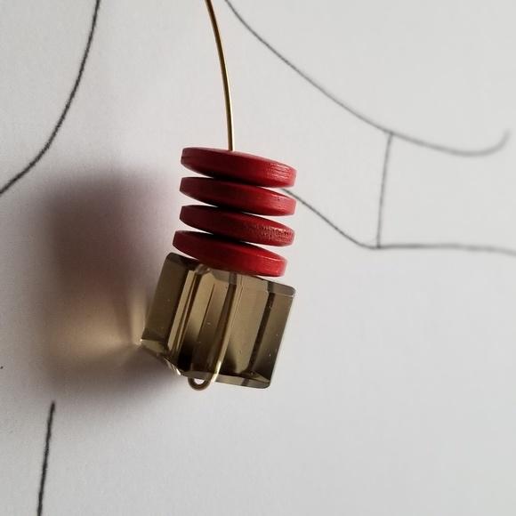 Simply Mahari Jewelry - Smoky Quartz Earrings